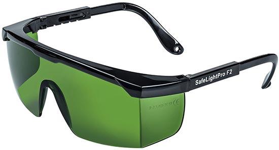 GAFAS proteccion laser rojo verde azul proteccion ojos depiladora fotodepilacion