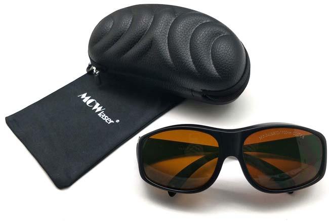 Gafas de protección para láser de 190 - 540 nm y de 800 - 1700 nm