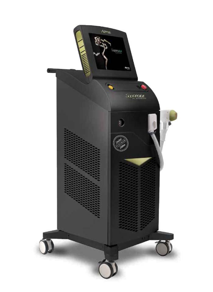 Máquina de depilación láser Alma Soprano Ice Platinum