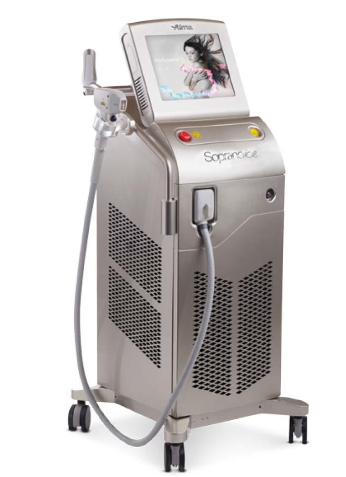 Máquina de depilación láser Alma Soprano Ice