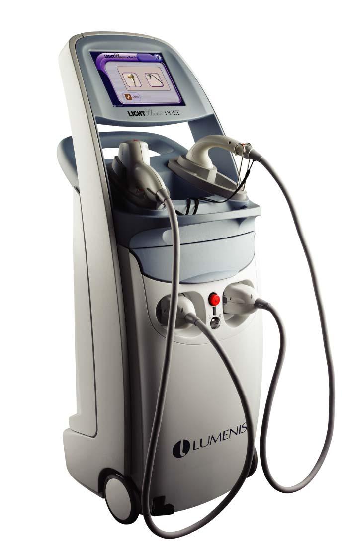 Máquina de depilación láser Lumenis LightSheer Duet
